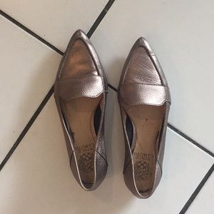 Metallic Vince Camuto Loafers
